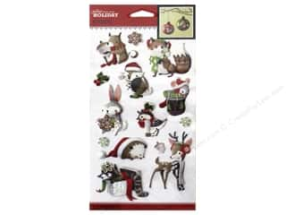 Animals: Jolee's Boutique Stickers Holiday Animals