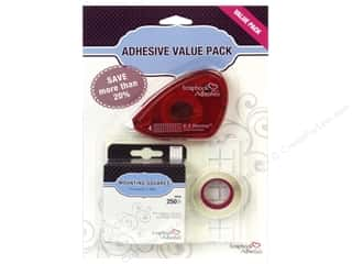 Glue and Adhesives $3 - $4: SCRAPBOOK ADHESIVES BY 3L Value Pack