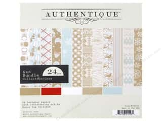 Authentique 6 x 6 in. Paper Bundle Cozy