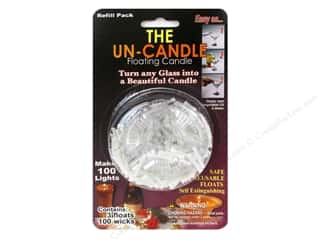 Pepperell Braiding Co: Pepperell Candle Wick Floating Candle The Un-Candle