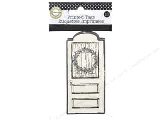 Tags Christmas: Canvas Corp Printed Tags 10 pc. Farmhouse Christmas Holiday Door