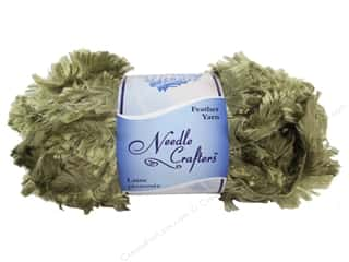 Multi's Embellishment  Yarn Multicraft Foam: Multicraft Yarn Feather Polyester 1.7oz Beige