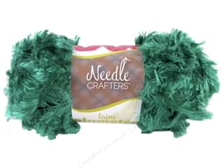 Yarn & Needlework: Multicraft Yarn Feather Polyester 1.7oz Kelly Green
