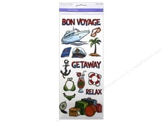 Multicraft Sticker Clear Bon Voyage