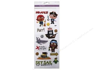 Multicraft Sticker Clear Pirates
