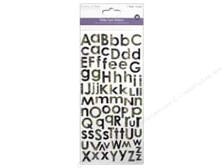 Yarn & Needlework ABC & 123: Multicraft Sticker Alphabet Glitter Reptile