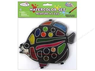 Multicraft Lil Artist Watercolor Set w/Brush Fish