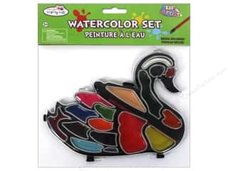 Multicraft Lil Artist Watercolor Set w/Brush Swan