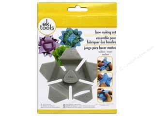 Templates Gifts: EK Tool Star Bow Template Kit Medium
