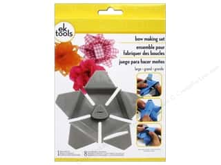 Templates Gifts: EK Tool Star Bow Template Kit Large