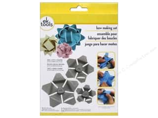 Craft Embellishments Projects & Kits: EK Tool Star Bow Template Kit Combo