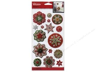 Jolee's Boutique Stickers Holiday Snowflakes