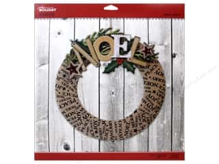 Craft Embellishments Holiday Sale: EK Jolee's Boutique Embellishment Holiday Wreath Kit