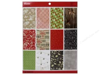 Holiday Sale Printed Cardstock: EK Paper Pad Holiday Paper Pad