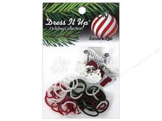 Jesse James Buttons Beading & Jewelry Making Supplies: Jesse James Kit Rubber Bands Santa's List