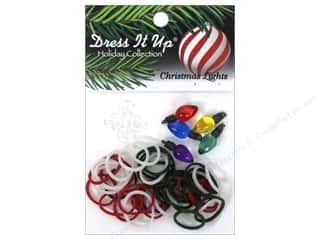 Jesse James Buttons Beading & Jewelry Making Supplies: Jesse James Kit Rubber Bands Christmas Lights