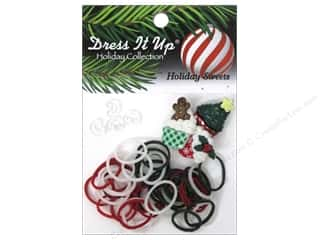 Jesse James Buttons Basic Components: Jesse James Kit Rubber Bands Holiday Sweets