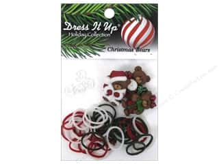 Buttons Kids Crafts: Jesse James Kit Rubber Bands Christmas Bears