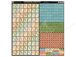 Weekly Specials Graphic 45: Graphic 45 A Time To Flourish Collection Alphabet Stickers