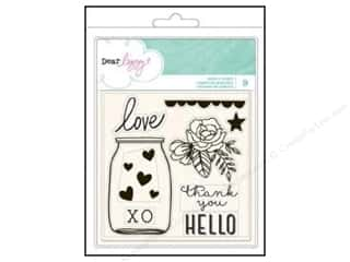Flowers New: American Crafts Clear Stamps Dear Lizzy Dear Lizzy Serendipity