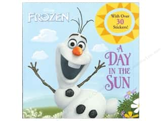 Kids Crafts Vacations: Random House Disney Frozen A Day In The Sun Book