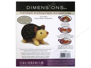 Felt Projects & Kits: Dimensions Needle Felting Kits Hedgehog