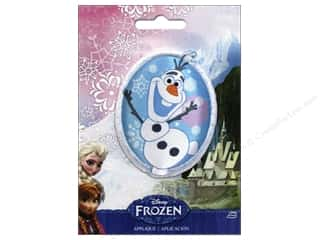 Licensed Products $0 - $2: Simplicity Appliques Disney Frozen Iron On Olaf