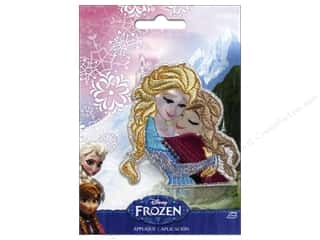 Irons: Simplicity Applique Disney Frozen Iron On Sisters