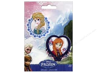 Simplicity Applique Disney Frozen Iron On ElsaAnna