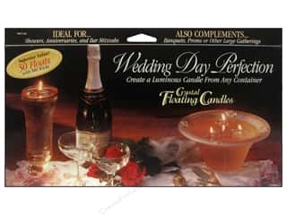 Pepperell Candle Wick Floating Wedding Day Perfect