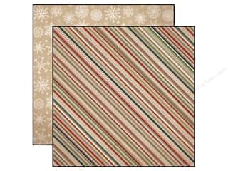 Warm and Natural Clearance Crafts: Carta Bella 12 x 12 in. Paper Warm And Cozy Cozy Stripe (25 sheets)