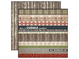Carta Bella Borders: Carta Bella 12 x 12 in. Paper Warm And Cozy Border Strip (25 pieces)