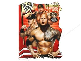Activity Books / Puzzle Books: Bendon Shaped Coloring & Activity Book WWE
