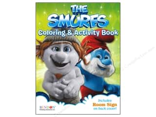 Books & Patterns Bendon Books: Bendon Coloring & Activity Book Smurfs