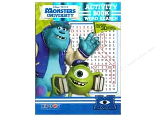 Activity Book Word Search Disney Monsters University