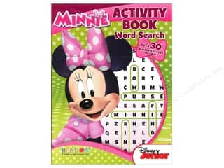 Books & Patterns Bendon Books: Bendon Activity Book Word Search Disney Minnie