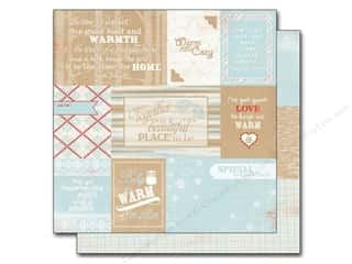Authentique Winter: Authentique 12 x 12 in. Paper Cozy Enhancements (25 pieces)
