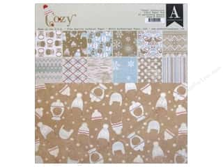Hearts Winter: Authentique Paper Pad 12 x 12 in. Cozy