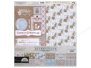Crafting Kits ABC & 123: Authentique Collection Kit 12 x 12 in. Cozy