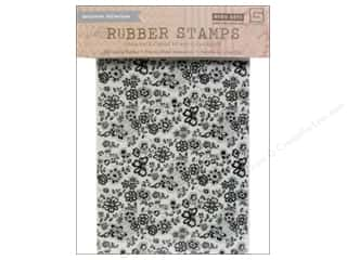 BasicGrey Rubber Stamp Vivienne Floral Background