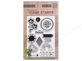 stamp fill favorite: BasicGrey Clear Stamps 13 pc. Vivienne Sweet You