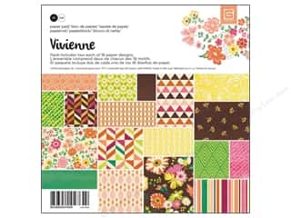 BasicGrey Paper Crafting Tools: BasicGrey Paper Pad 6 x 6 in. Vivienne 36 pc.