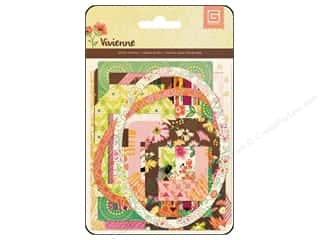 Picture/Photo Frames Scrapbooking & Paper Crafts: BasicGrey Die-Cut Frames & Overlays Vivienne
