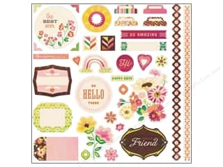 Photo Corners Best of 2013: BasicGrey Element Stickers Vivienne (12 sets)
