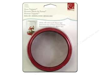Cosmo Cricket Show Toppers 2 pc. Red Enameled Rings