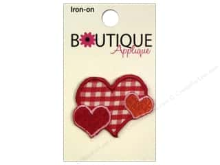 Blumenthal Hearts: Blumenthal Boutique Applique Plaid Hearts