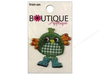 Blumenthal Boutique Applique Green Bird