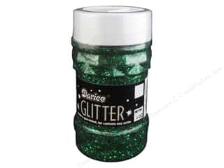 Foil Green: Darice Glitter Jar 4 oz. Green