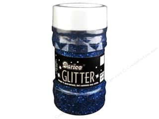 Basic Components Blue: Darice Glitter Jar 4 oz. Royal Blue