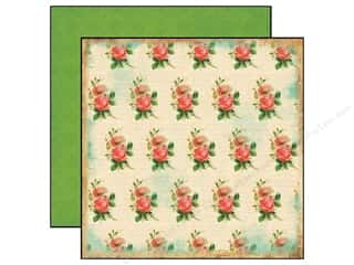 Carta Bella 12 x 12 in. Paper Yesterday Roses (25 piece)